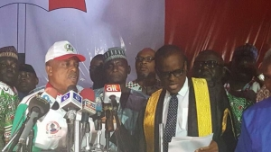 Uche Secondus elected PDP's national chairman