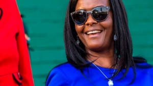 Grace Mugabe is the second wife of President Robert Mugabe