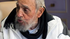 Fidel Castro during one of his last outings