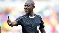 Ghanaian referee Joseph Lamptey has been banned for life by Fifa