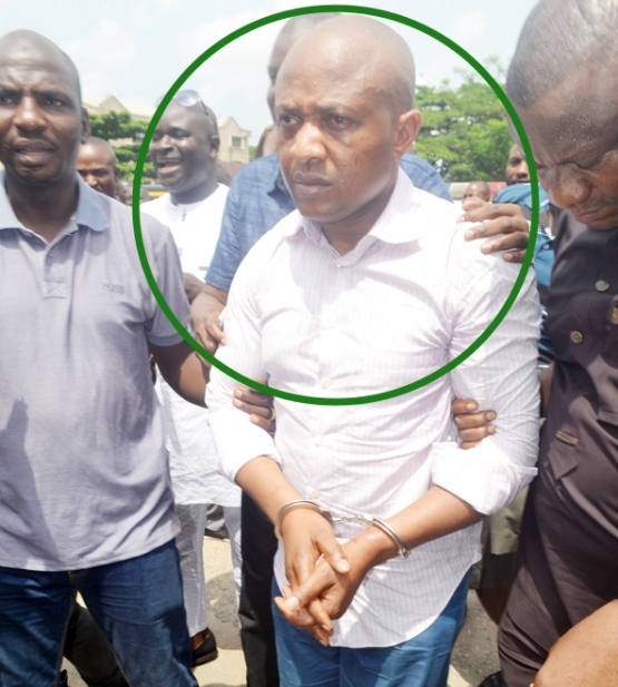 Evans: The terrible...Nigeria's crime boss caught after evading police for seven years.