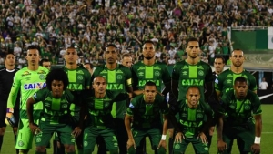 The Braillian Chapecoense team