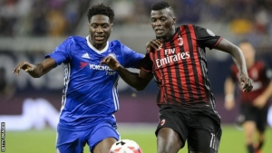 Ola Aina played against AC Milan and Real Madrid in friendlies prior to the 2016-17 season.