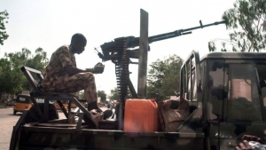 The Nigerian army has failed to stop violence by militants in Maiduguri