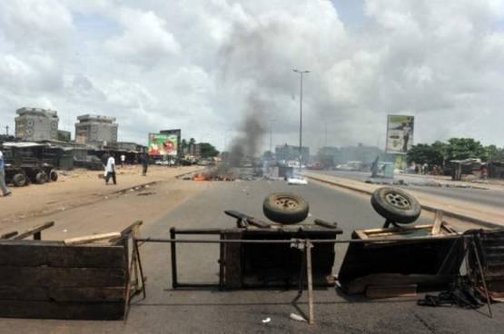Ivory Coast was hit by conflict between supporters of President Alassane Ouattara and his his predecessor Laurent Gbagbo