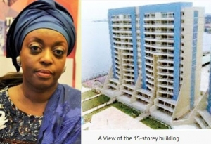 EFCC traces N47b, $487m to ex-Oil Minister Diezani