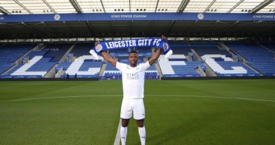 Kelechi Iheanacho has officially been unveiled as a Leicester City player.