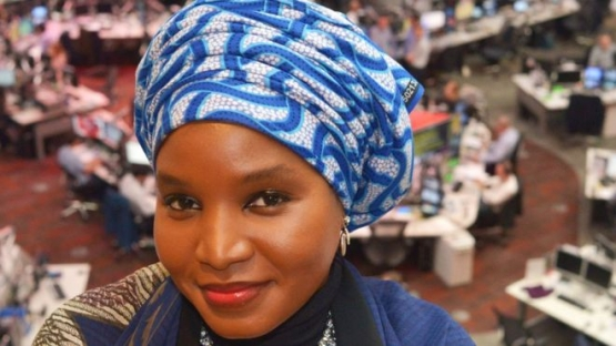 Amina Yuguda hails from Yola in north-eastern Nigeria